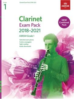ABRSM: CLARINET EXAM PACK 2018–2021, ABRSM GRADE 1