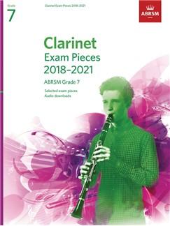 ABRSM: CLARINET EXAM PIECES 2018–2021, ABRSM GRADE 7