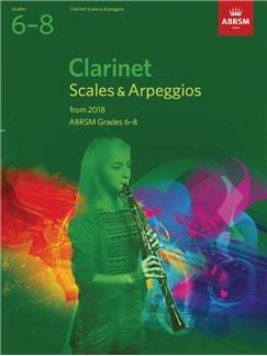 ABRSM: CLARINET SCALES & ARPEGGIOS, ABRSM GRADES 6–8