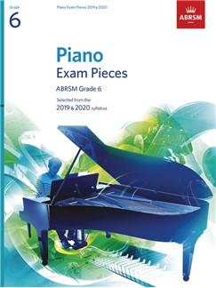 ABRSM Grade 6 Piano