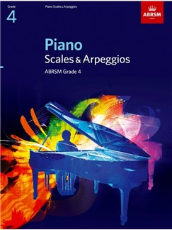 ABRSM PIANO SCALES AND BROKEN CHORDS: FROM 2009 (GRADE 4)