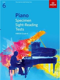 ABRSM PIANO SPECIMEN SIGHT-READING TESTS GRADE 6