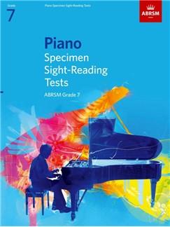 ABRSM PIANO SPECIMEN SIGHT-READING TESTS GRADE 7