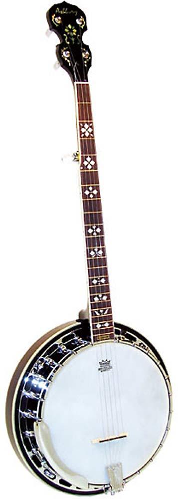 Ashbury 5 String Banjo, Brass Tone Ring