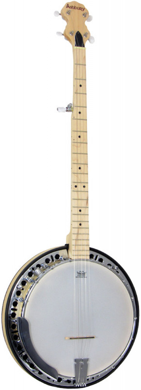 Ashbury 5 string Banjo, Electro, Maple