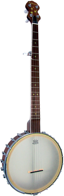 Ashbury 5 string Banjo, Walnut Rim