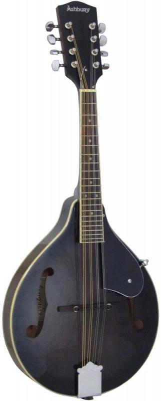 Ashbury A Style Mandolin, Black