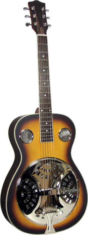 Ashbury Resonator Guitar, Single Cone