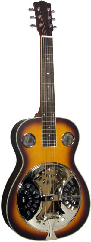 Ashbury Resonator Guitar, Square Neck