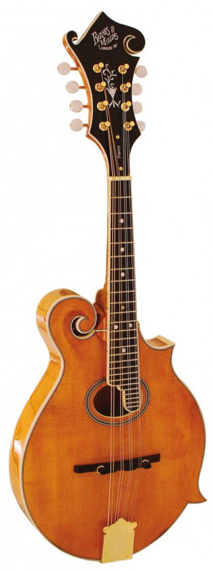 BARNES AND MULLINS MANDOLIN - PIERCY MODEL