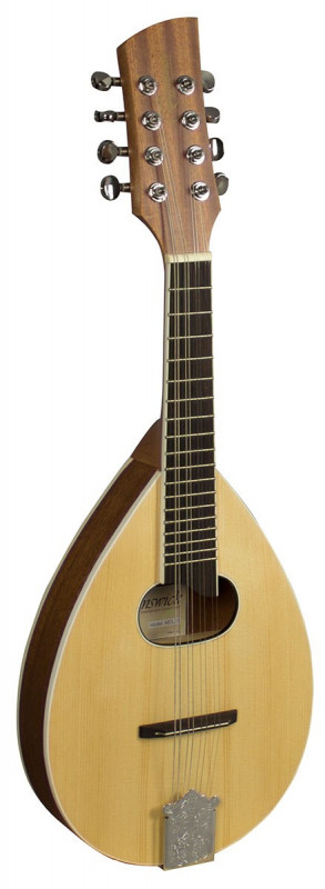 BRUNSWICK MANDOLIN FLAT BACK NATURAL