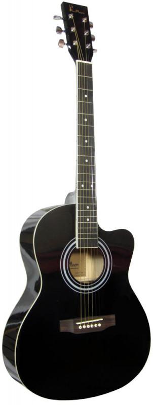 Blue Moon Small Body Guitar Cutaway BLK