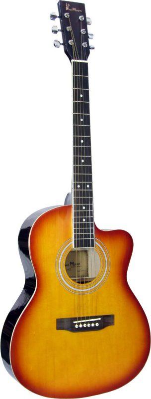Blue Moon Small Body Guitar Cutaway S-B