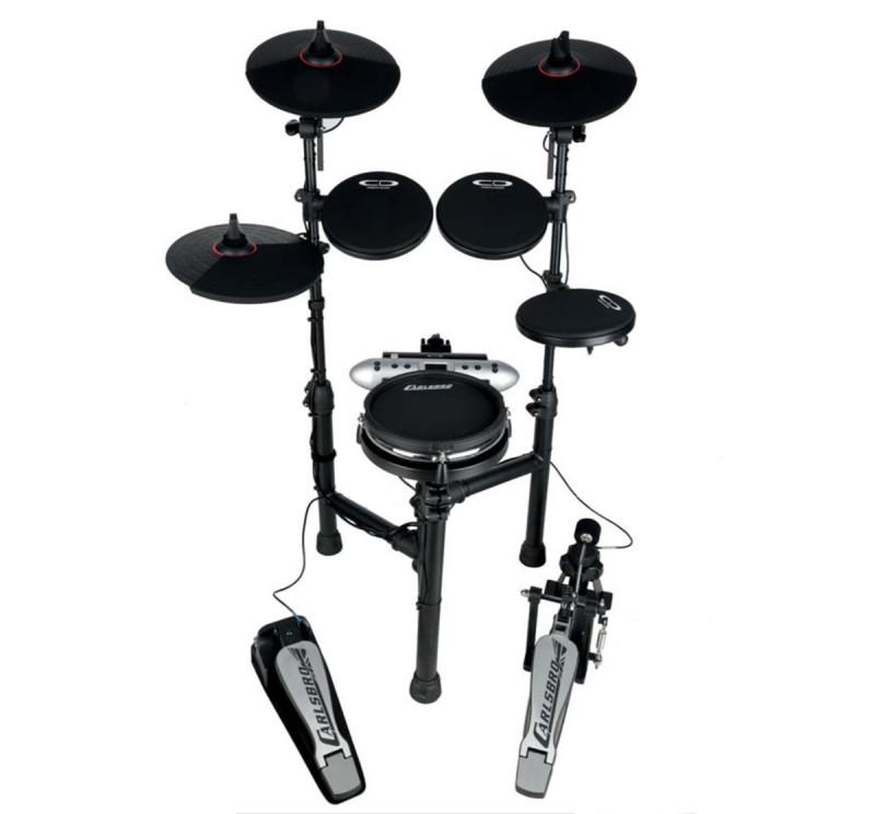 Carlsbro CSD130M Electronic Digital Drum Kit With Mesh Snare Drum