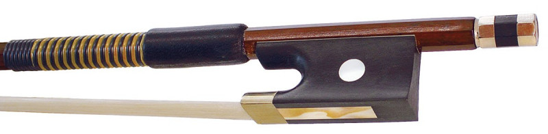 Hidersine Bow Violin 3-4 size Brazilwood Octagonal Student