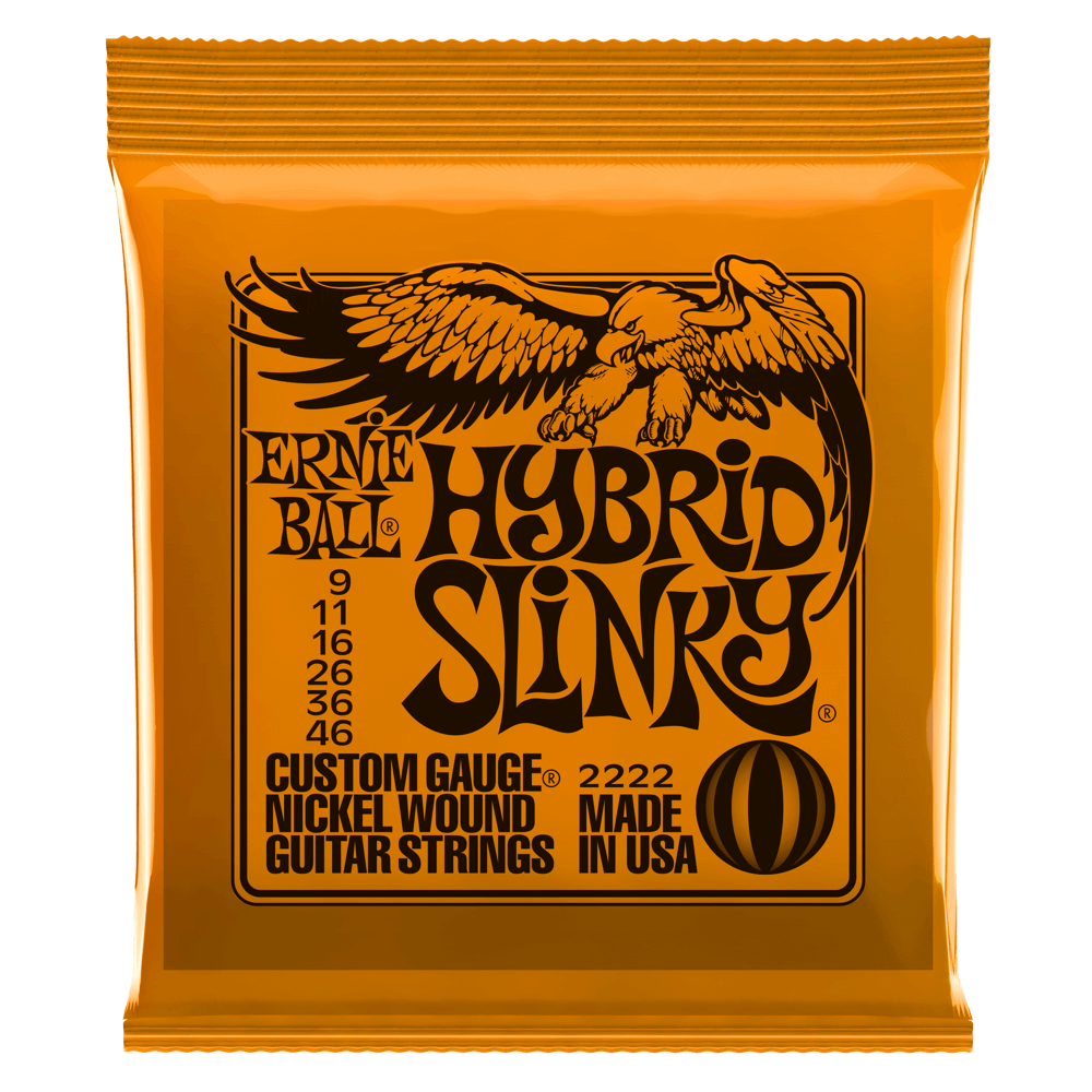 Hybrid Slinky Electric Guitar Strings