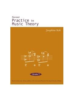 Josephone Khoh Practice In Music Theory Grade 7