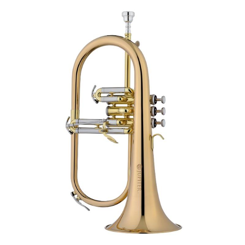 Jupiter JFH1100R Bb Flugelhorn rosebrass bell