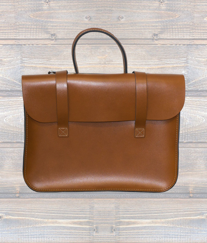 Leather Music Case – London Tan