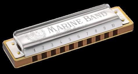 Hohner Marine Band 1896 Classic in C