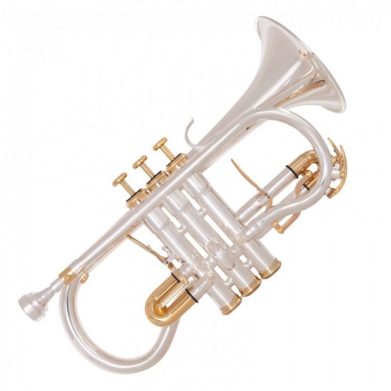 ODYSSEY PREMIERE 'EB' SOPRANO CORNET OUTFIT – SILVER PLATED