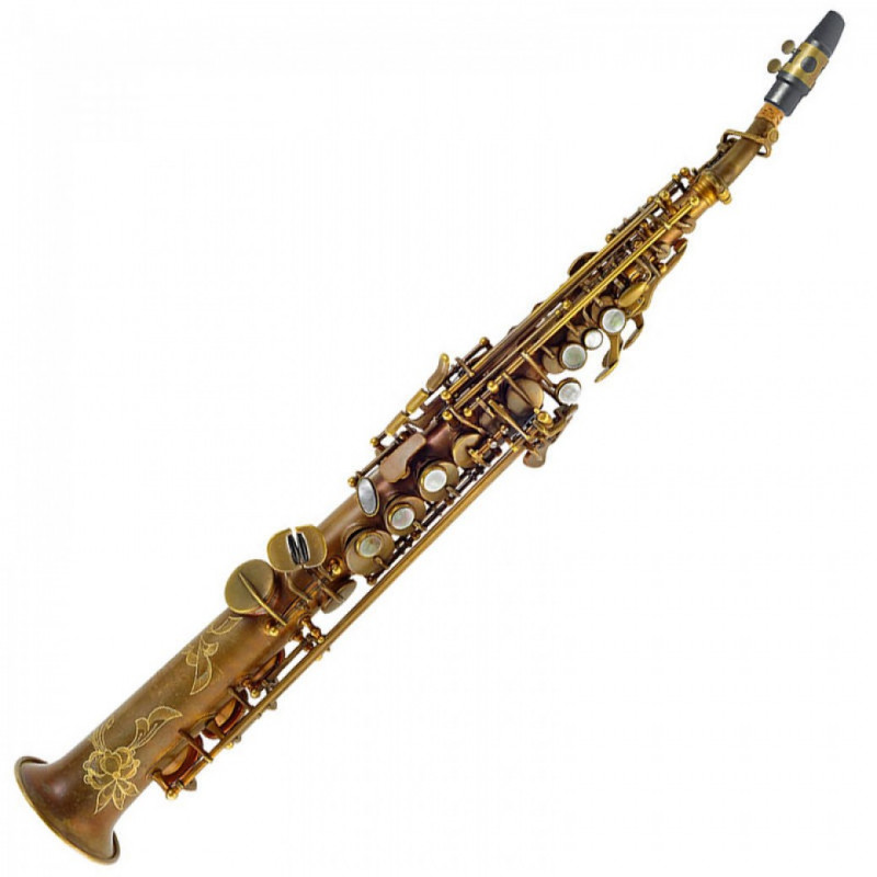 P. MAURIAT SYSTEM-76 2ND EDITION SOPRANO SAX - UN-LACQUERED