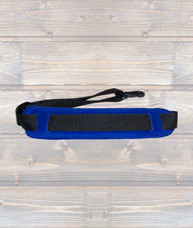Padded Saxophone Strap – Blue