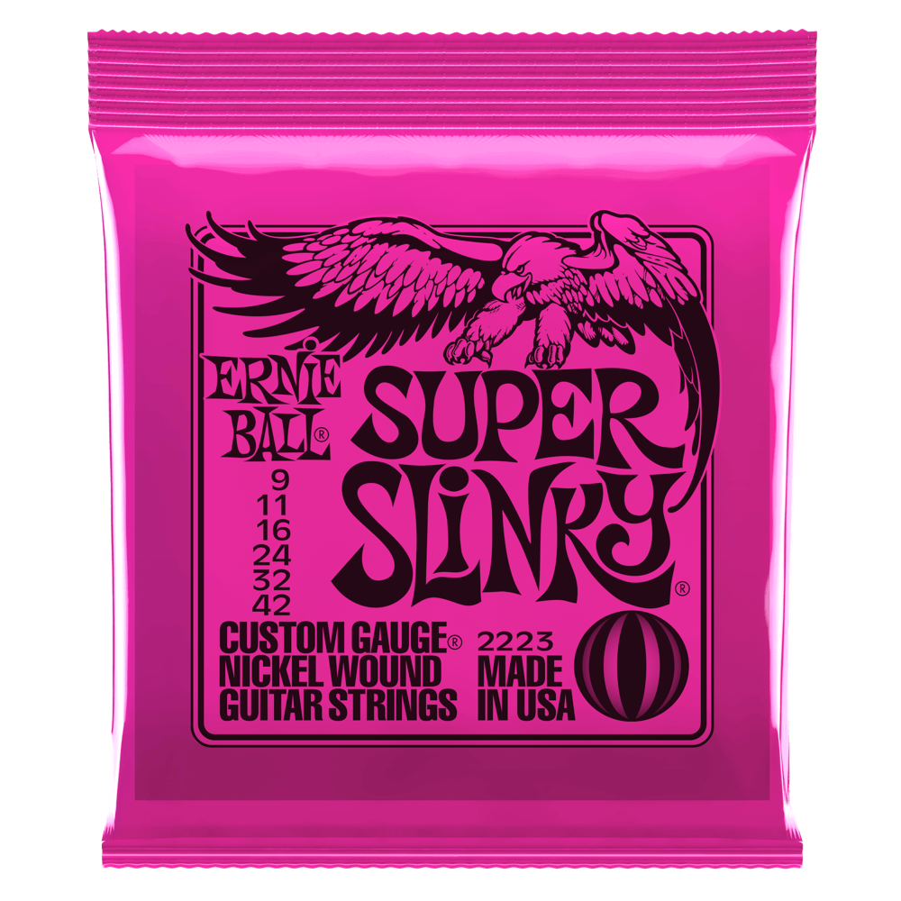 Supers Slinky Electric Guitar Strings