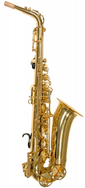 TREVOR JAMES ALPHASAX ALTO SAX OUTFIT - GOLD LACQUER