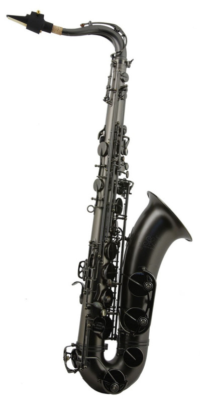 TREVOR JAMES SR TENOR SAX OUTFIT - BLACK FROSTED. BLACK KEYS