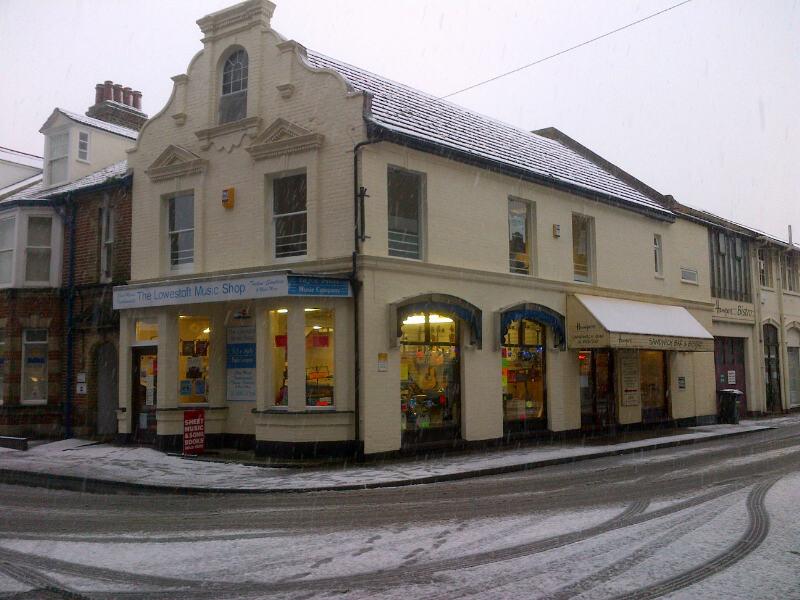 Take Note Music Shop in Lowestoft, Suffolk