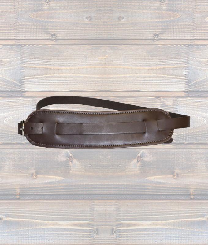 Vintage Shoulder Pad Guitar Strap – Brown