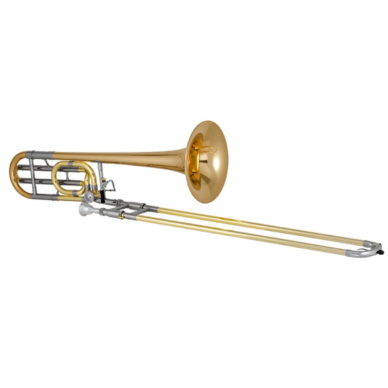XO Bb/F Rotary Trombone, Traditional Wrap