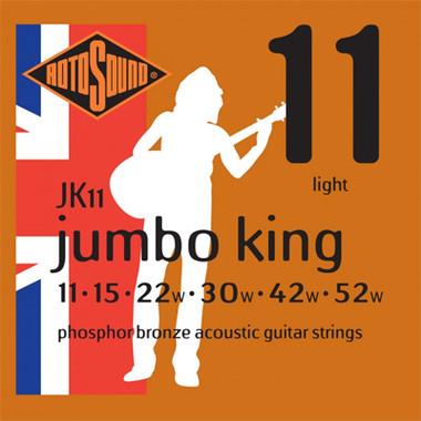 Rotosound Jumbo King Acoustic Strings 11s